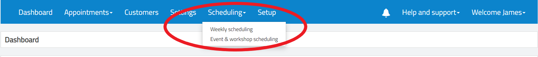 Workshop and event scheduling with Smoothbook